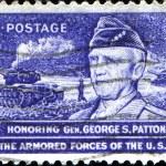 General George S Patton jr — Stock Photo