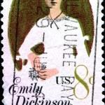 Постер, плакат: Emily Dickinson American Poet