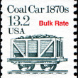 Coal Car 1870s, Bulk Rate — Stock Photo