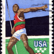 Javelin thrower — Stock Photo