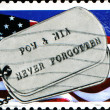 POW and MIA, never forgotten — Stock Photo