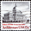 Stock Photo: Boston State House by Bulfinch , 1763 - 1844
