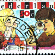 Постер, плакат: Boy and Girl Inspecting Stamp Youth Philately