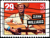 Hank Williams, country and weatern singer — Stock Photo