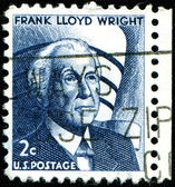 Frank Lloyd Wright — Stock Photo