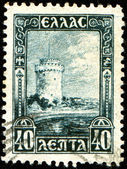 White Tower, Salonika — Foto de Stock