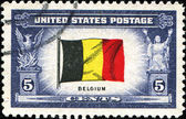 Flag of Belgium — Stock Photo