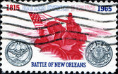Battle of New Orleans. — Stock Photo