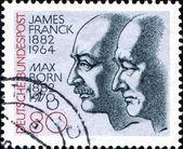 James franck i max ur — Zdjęcie stockowe
