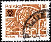 Polish horse treadmil — Zdjęcie stockowe