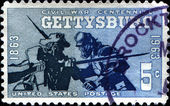 Civil War Centennial, Gettysburg — Stock Photo