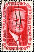 President Herbert Hoover — Stock Photo