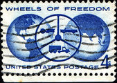 Wheels of Freedom — Foto de Stock