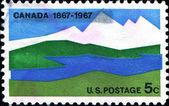 канада 1867 1967 — Стоковое фото