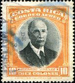 Romualdo Ricardo Jimenez Oreamuno - president of Costa Rica — Stock Photo