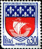 Paris vapensköld — Stockfoto