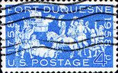 Fort duquesne — Zdjęcie stockowe