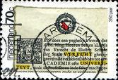 350 anniversary of Uyrecht university — Foto de Stock