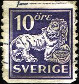 Coat of arms of Sweden — Стоковое фото