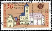 Town Hall, Regensburg — Stock Photo