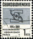 50th Anniv of Int Labour Organization. — Stock Photo