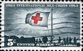 International Red Cross Centenary — Stock Photo