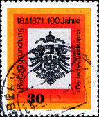 A stamp printed in German Federal Republic — Stock Photo