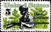 Davy Crockett — Stock Photo