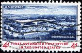 Primero automatizado de la oficina de correos en tne nosotros, providencia — Foto de Stock