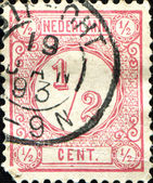 A stamp printed in the Netherlands — Stock Photo