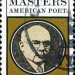 Edgar Lee Masters, american poet — Stock Photo #38091565