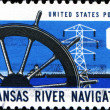 Arkansas river navigation — Stock Photo #38090363