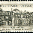 Home of James Buchanan, Whetland — Stock Photo