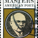 Edgar Lee Masters, american poet — Stock Photo