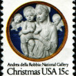 Madonna and Child by Andrea della Robbia — Stock Photo