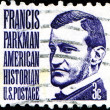 Francis Parkman, american historian — Stock Photo