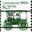 Ambulance 1860s — Stock Photo