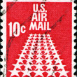 US air mail — Stock Photo