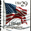 Stock Photo: I pledge allegiance...