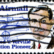 Alfred Verville, Aviation Pioneer — Stock Photo
