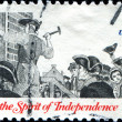 Stock Photo: Rise of Spirit of Independence