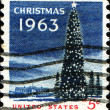 Christmas 1963 — Stock Photo
