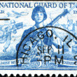 National guard of the US — Stock Photo