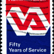 Stock Photo: Emblem of Veterans Administration