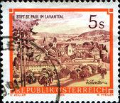 St. paul's abbey i lavanttalen, karintien — Stockfoto