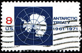 Antarctic Treaty — Stock Photo