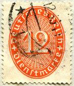 10 pfennigs — Zdjęcie stockowe