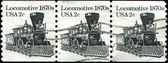 Locomotive 1870s — Stock Photo