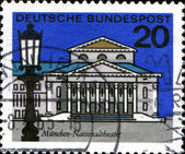 Münih ulusal tiyatro — Stok fotoğraf