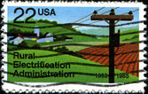 Rural Electrification Administration — 图库照片